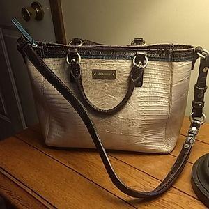 Brahmin leather bag handles & shoulder strap